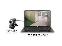 USBカメラ使用