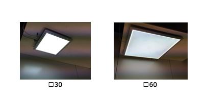 検査用LEDパネル照明