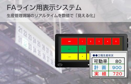 FAライン表示システム
